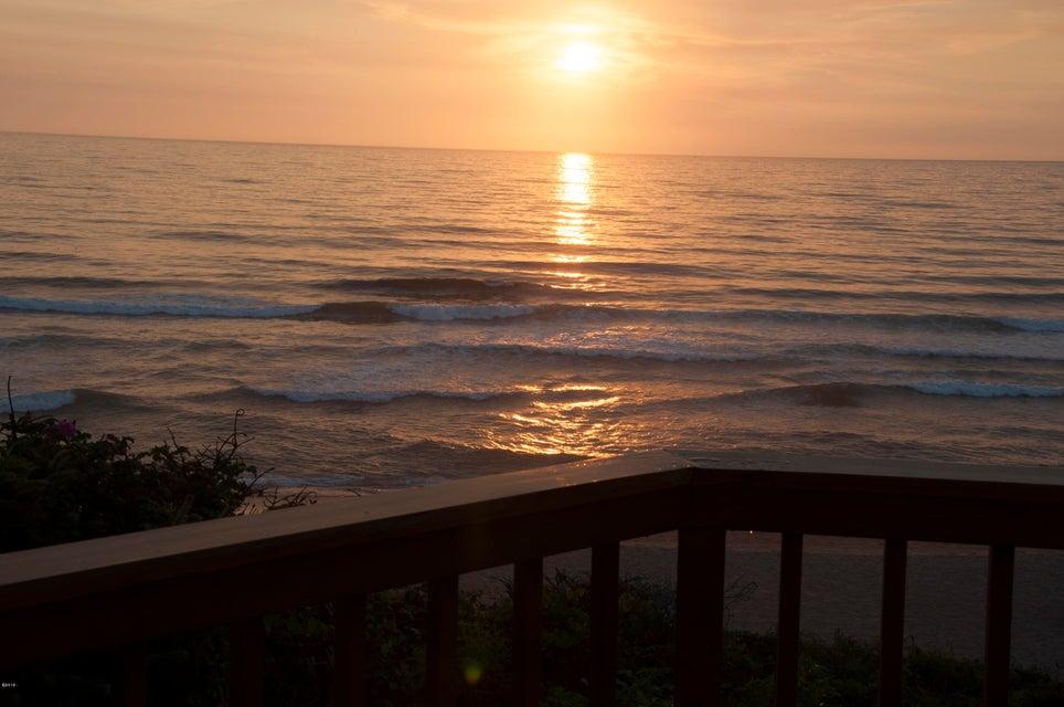375 Monterey Ave, Gleneden Beach, OR 97388 - Sunset From Deck