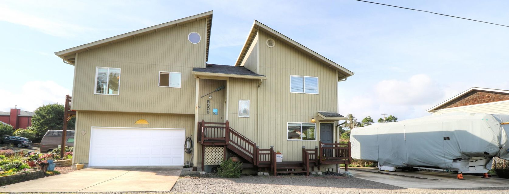 5505 NW Rhododendron, Newport, OR 97365 - Exterior 2