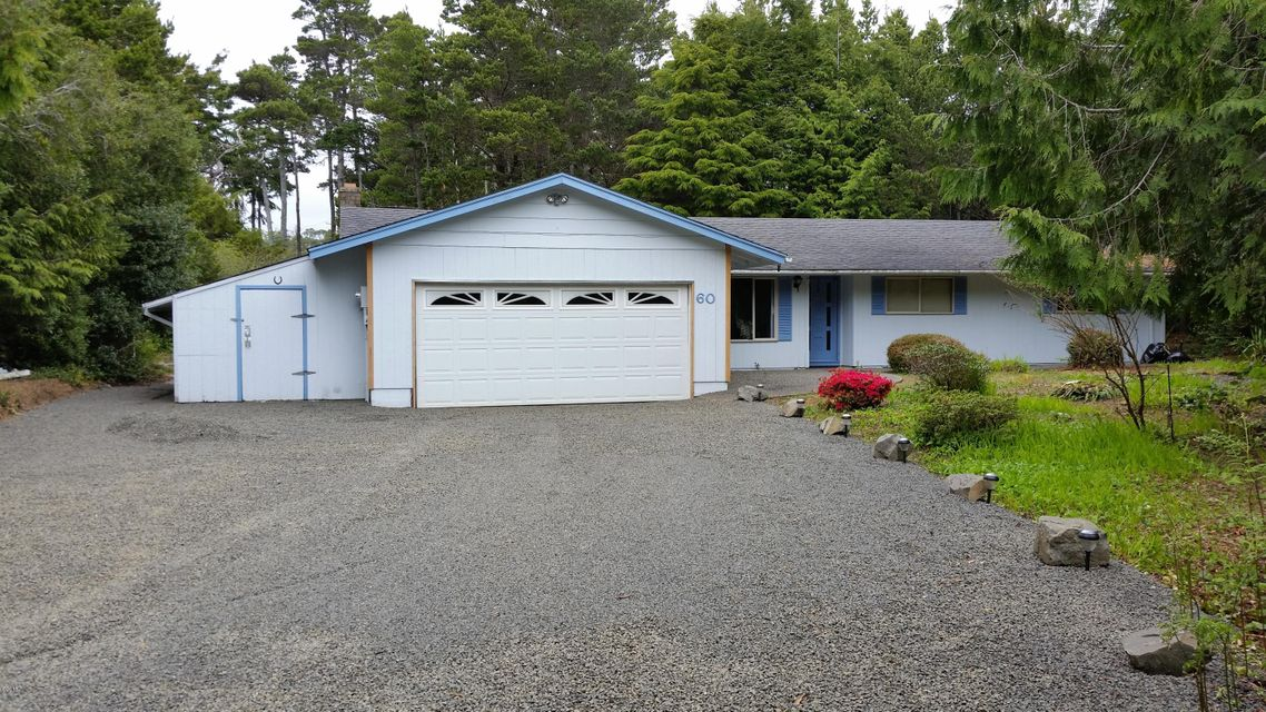 60 Ridge Pl, Depoe Bay, OR 97341 - Front of Home