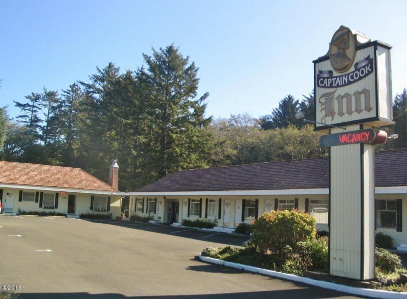 2626 NE Hwy 101, Lincoln City, OR 97367 - Captain Cook Inn