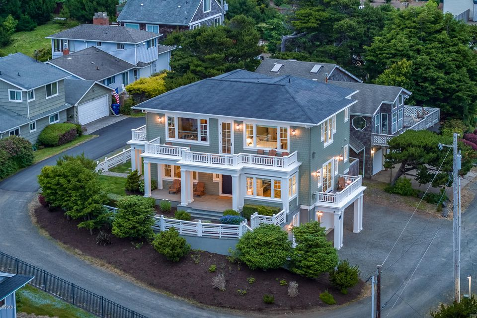 1859 NW 51st St, Lincoln City, OR 97367 - Aerial Exterior