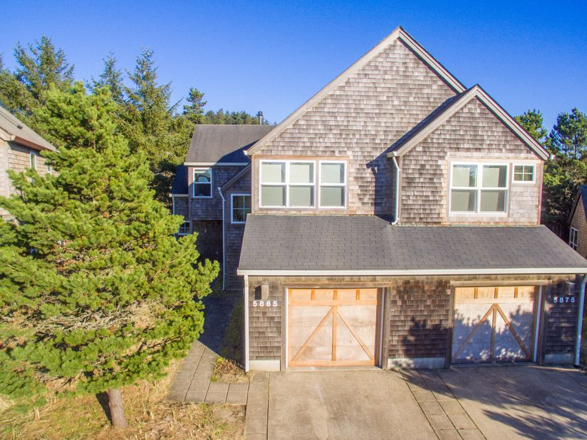 5865 Barefoot Lane, Pacific City, OR 97135 - front