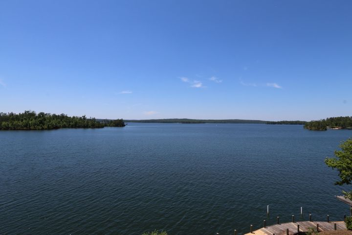 Lake Martin lot for sale with big water views.