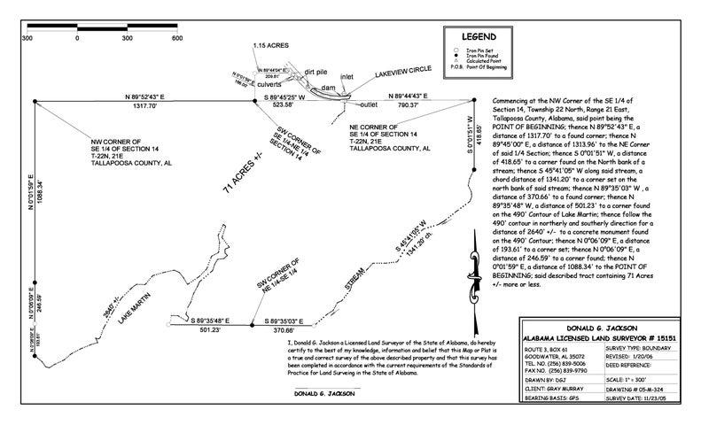 71 +/- acres Lakeview Circle, Alexander City, AL 35010
