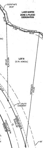 Lot 8 NEROS ROCK Rd, Eclectic, AL 36024
