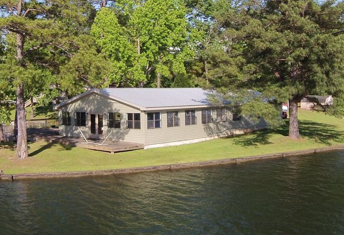 An updated home on a flat, point lot!