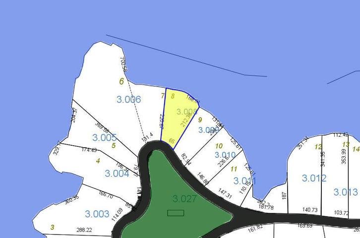 Plat Map Lot 8 Ph 1 Willow Glynn