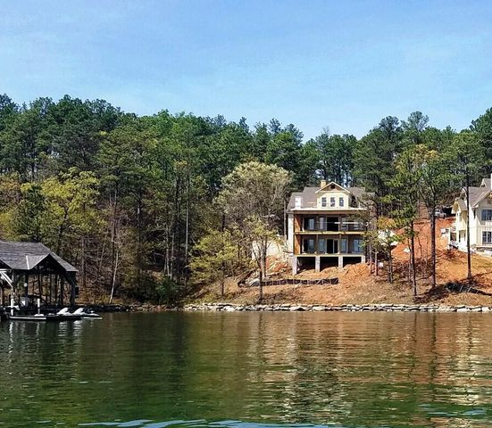 Covered Boat House not built as of current but included I list price.