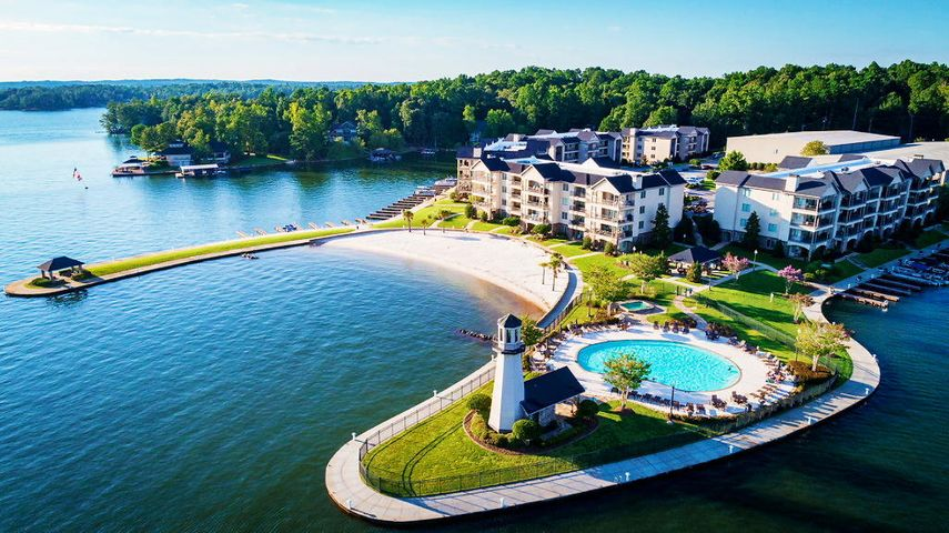 Harbor Pointe condo 304 D for sale on Lake Martin