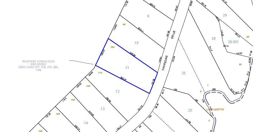 Lot 11 Shoreline Dr, Alexander City, AL 35010