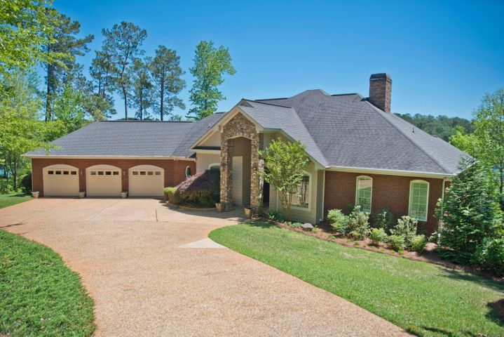 Simply stunning: 61 Oaks Pt, Jackson's Gap, AL 36861