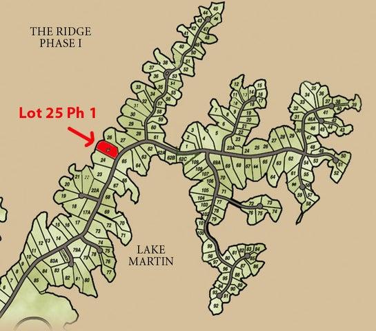 Lot 25 North Ridge, Alexander City, AL 35010