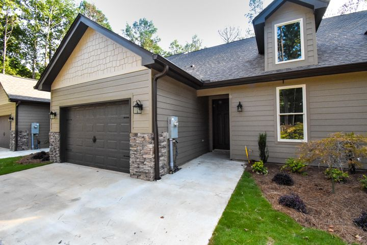 Garage and private entry. Middle unit