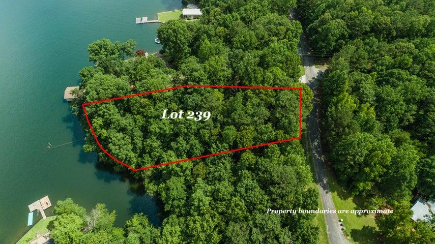 Dennis Creek waterfront lot for sale