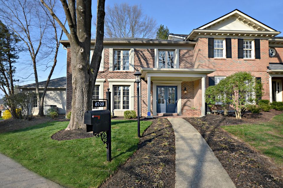 Don't miss this beautifully renovated brick townhome with a 2 1/2 car attached rear entry garage tucked on a quiet cul-de-sac in prestigious Hunting Creek.  This home sits between the golf course and beautiful open meadow. As you enter the new double glass front doors you will notice the vaulted foyer allowing great natural light.  This is a spacious three bedroom, 3 full and one half bath unit that has been expertly remodeled by a licensed builder/contractor.  The owner has spared no expense using high end finishes in cabinetry, vanities, lighting, tile work and flooring.  The first floor has been opened up to create a great flow for entertaining. The custom kitchen has all new soft close cabinetry, lovely granite, a center island with sink and stainless appliances.