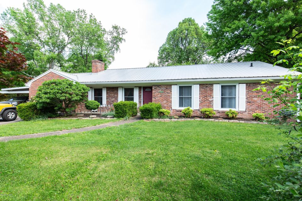 Great location, large lot, quiet street, and updated throughout! This 2 bedroom, 2 bath ranch home features hardwood floors, an eat in kitchen, a huge dining room, and a sunroom with tile floors. Each bedroom has their own bath and walk-in closets. The huge yard is fully fenced and has two covered decks. There is a 1 car garage attached, a...