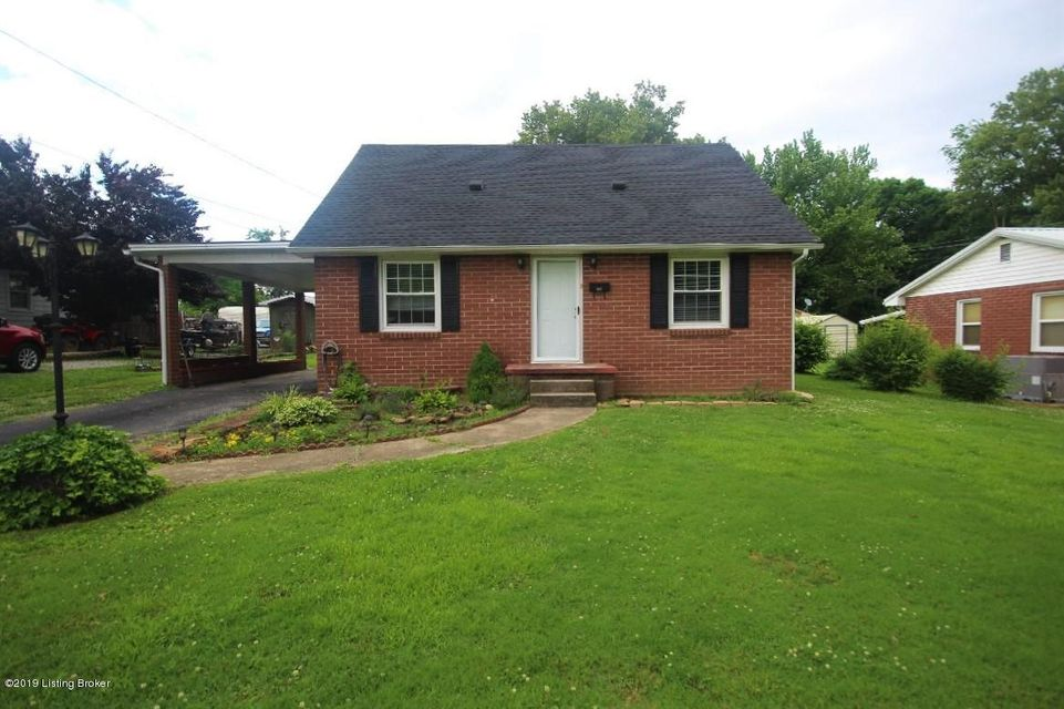 Cute 3 bed, 1 bath 2-story brick home with detached garage on 0.18+/- acre lot.  This charmer has 1522 sq ft of living space with living room, kitchen, master bed, full bath & utility room on 1st floor & 2 additional bedrooms on 2nd floor.  Kitchen appliances include refrigerator, range, dishwasher & micro-hood as well as washer & dryer in utility room. Updates include replacement windows, newer HVAC, new water heater, new roof & new structural beam in crawl space area.  Move-in ready!!