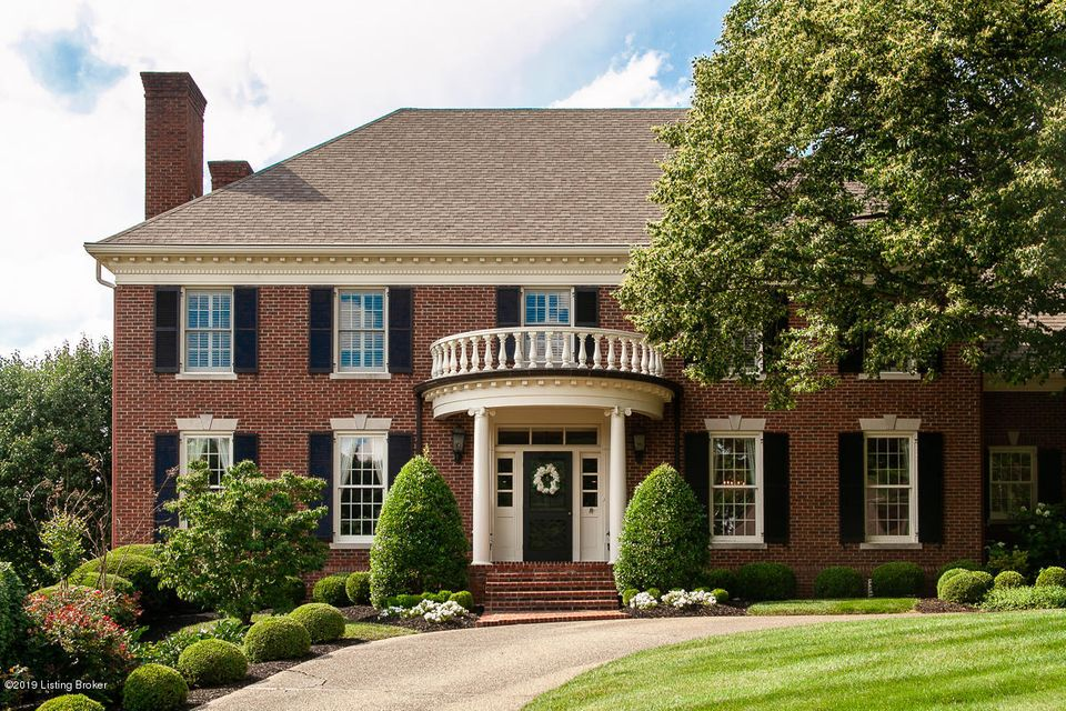 Welcome home to a wonderful example of graciousness.  Beautiful brick central hall colonial located on a quiet cul de sac close to downtown and central to everything!  The wide open foyer, with a curved staircase is perfect for entertaining.  The large formal dining room with built in cupboards and fireplace is ideal for family gatherings....