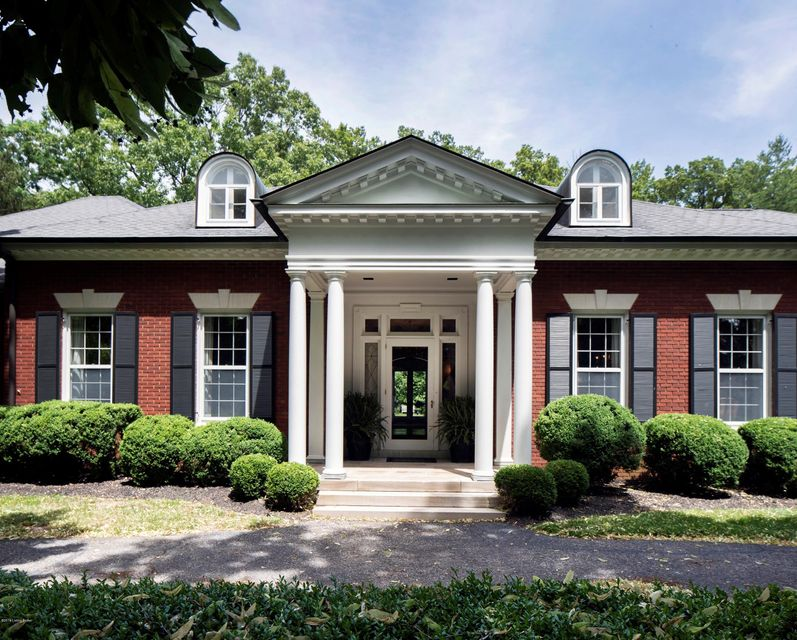 This gracious and elegant home in the private Poplar Hill section of Indian Hills is a significant find. Exuding all the charm and perspective of traditional Jeffersonian architecture, guests are welcomed by the circular driveway lined by mature boxwoods. A sizable foyer framed by Doric columns leads straight into a large living room, opening...
