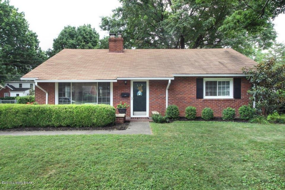 Welcome to the heart of St Matthews and highly desirable Fairmeade! Beautiful brick front porch is the entry to this lovely 2 bd , 1 ba home with fireplace.  Home has new flooring in living/dining area and kitchen.  Kitchen has granite counter tops and new tile backsplash.  A sunroom off kitchen opens to patio, perfect for entertaining and...