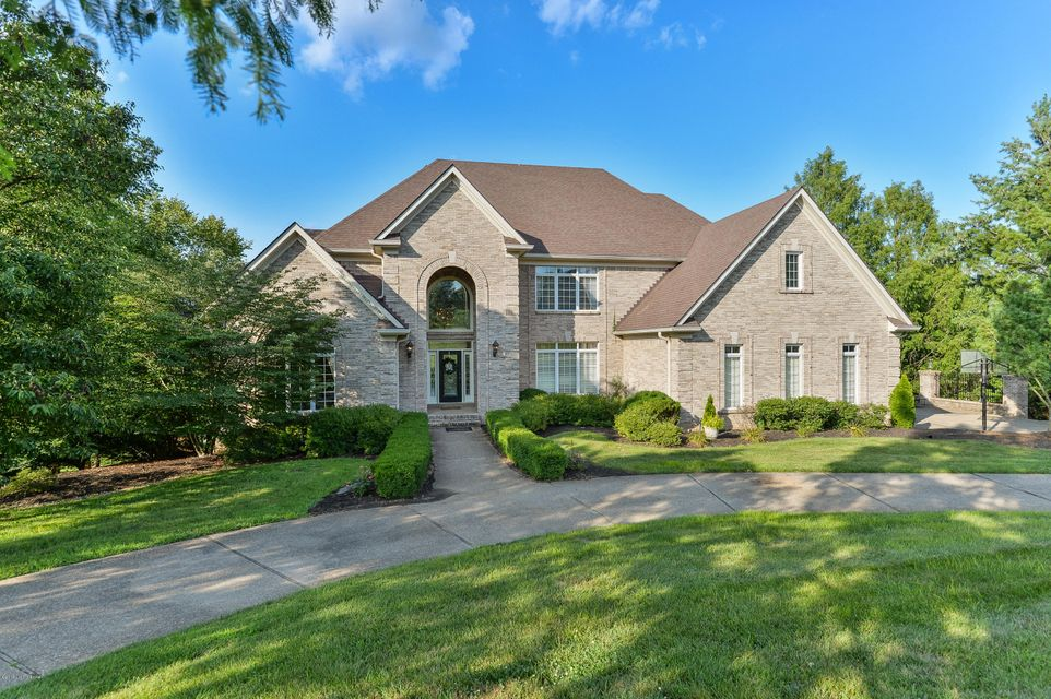 Nestled within desirable Estates of Hunting Creek and situated within the award-winning North Oldham county school district, this incredible estate home embodies the idea of elevated entertaining, featuring nearly 9,000 square feet of custom-built living space, multilevel entertaining deck, and stunning freeform pool with spacious pool house....