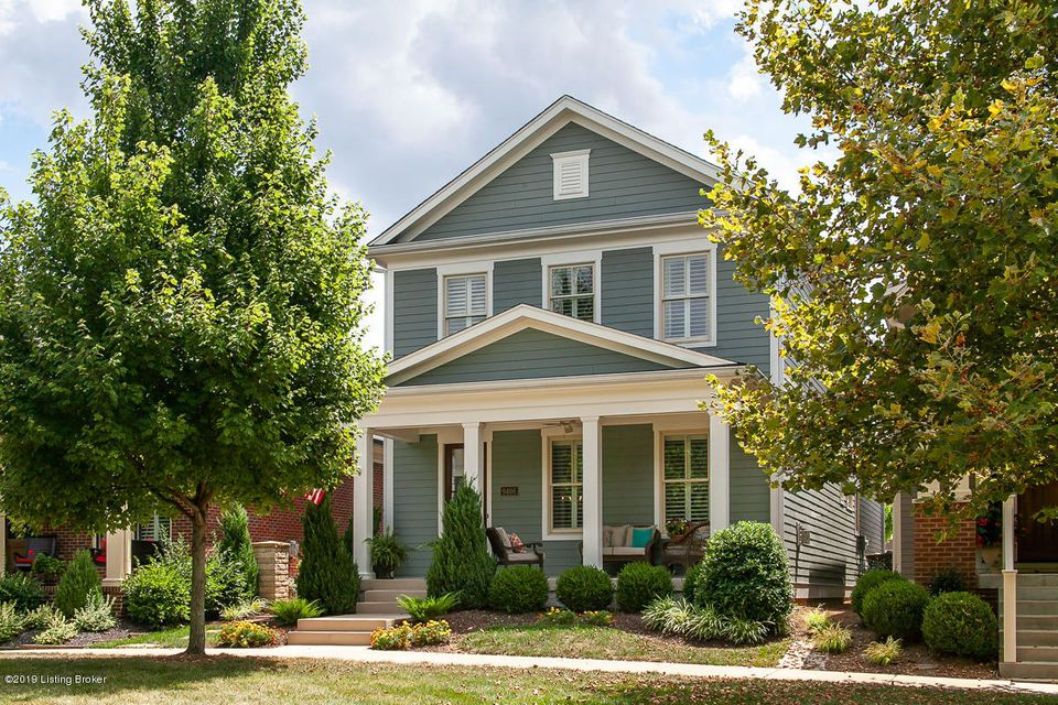 Welcome home to this architecturally stunning beauty overlooking one of Norton Commons large green spaces! The front porch is the perfect place to watch the kids play or visit with neighbors! Upon entering, the attention to detail will be one of the first things your notice from the built-ins, to the moldings, to the open floor plan, this...