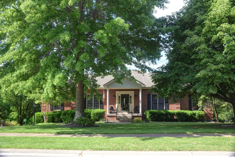 All Brick, Walk-Out Ranch, Overlooking a Gorgeous view the of Clear Creek path, quiet Cul-de-sac on a 1/2 acre lot, 4 Bedrooms, 3 Full Bathrooms, 1st Floor Laundry, OVER 3600 SF, New Heating & Air Conditioning (April 2019), New Water Heater (March 2019), New Gutter Guards (2018). The kitchen is a fabulous gathering space, featuring a vaulted wood beam breakfast area, Double wall oven, newer Stainless Refrigerator (2018), plenty of counter space, a planning desk, access to the 1st floor laundry room is conveniently located in the kitchen. The Great Room is a HUGE area, Plenty of room for the large screen TV, sectional sofa & recliners!! The Master Bedroom has a trey ceiling, 5 piece Bath, double bowl sink, separate whirlpool tub & shower,