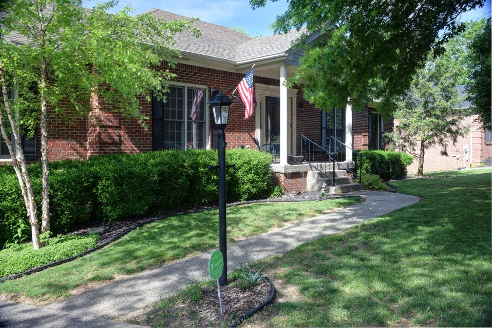All Brick, Walk-Out Ranch on Cul-de-sac, 1/2 acre lot, 4-5 Bedrooms, 3 Full Bath, 1st Floor Laundry & Master BR,  HVAC (April 2019), Water Heater (March 2019), Gutter Guards (2018). Fabulous kitchen featuring a Vaulted wood beam ceiling in breakfast area, Double wall oven, newer Stainless Refrigerator (2018), plenty of counter space & planning desk.  Access 1st floor laundry room in the kitchen. The Great Room is a HUGE area, PLENTY of room for the large screen TV & reclining sofas to watch the big games with the family!! The Master Bedroom has a trey ceiling, 5 piece Bath, double bowl sink, tub & stand alone shower. WALK-OUT basement has another large Family/Recreational area, 4th bedroom, attached Full Bathroom, plus a 5th Bedroom (No egress), PLENTY of organized storage space, covered