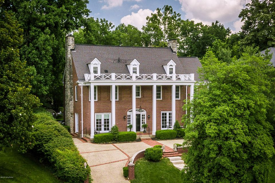 Steps from the entrance to Cherokee Park, with amazing park views, is this completely renovated 3 story brick Colonial style home built in 1922. The first and second floors have refinished hardwood throughout. The grand entry foyer leads to a formal sitting room with a fireplace, built-in bookshelves, and new French doors opening onto the...