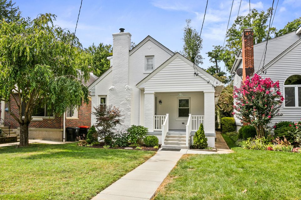 First Showings Tuesday, 9/17/19 at Open House Luncheon from 11:30-1pm. Amazing remodel and additions by Louisville Award Winning Builders!! Everything today's buyers want. Open floor plan with covered front porch, cover rear patio, oversized one car garage (alley access) and freshly landscaped! Formal living room open to dining room, professional...