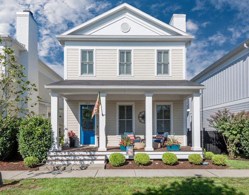 Welcome to this one owner, 4 year old home in Norton Commons. This home is in a perfect location within the neighborhood as it is close to downtown shops and restaurants. The large neighborhood playground is steps away from the front door. It has a large covered front porch. Enter the front door to a glamorous entryway that leads to the great...