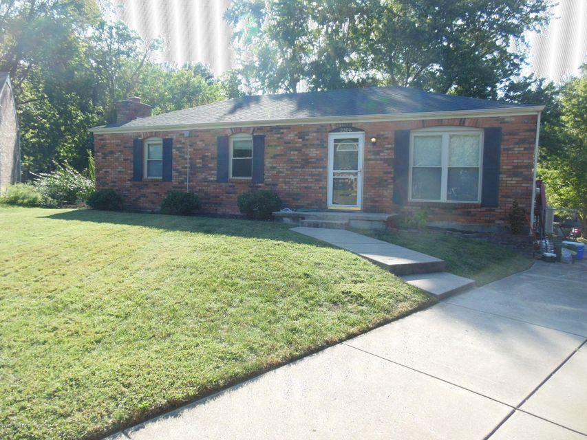 Nice brick walkout ranch located on a quiet cul de sac off Hurstbourne LN & LaGrange rd. 3 bedrooms & 2 full baths w/open kitchen & dining area. Lots of counter space & cabinets w/ views into the living room. The master has its own bath & another full bath in the hallway. The walkout bsmt is 70% finished w/ the rest being storage & washer dryer etc. There is a pool table that can stay or go. Double doors lead to the big back yard. There is a gym set & shed for your use. Off of the kitchen there is huge deck that overlooks the yard. The house has new paint, some new carpet & should be ready by Oct 1.This is a non smoking & no sec. 8 house. I might allow a small dog w/a good deposit. If you want a nice home with a good land lord this might be your house. Hounz Park is close by for the kids.