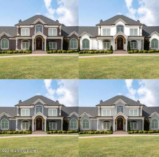 Breathtaking, custom built home located in Poplar Woods Estates Neighborhood. This 7,500 sq. ft., 3 car garage, luxury home has ample space for parties & family gatherings.  Enter from the grand covered porch with large white columns, wood paneled ceiling with arched stained glass windows to the grand 24 ft. foyer with custom trim work, staircase,...