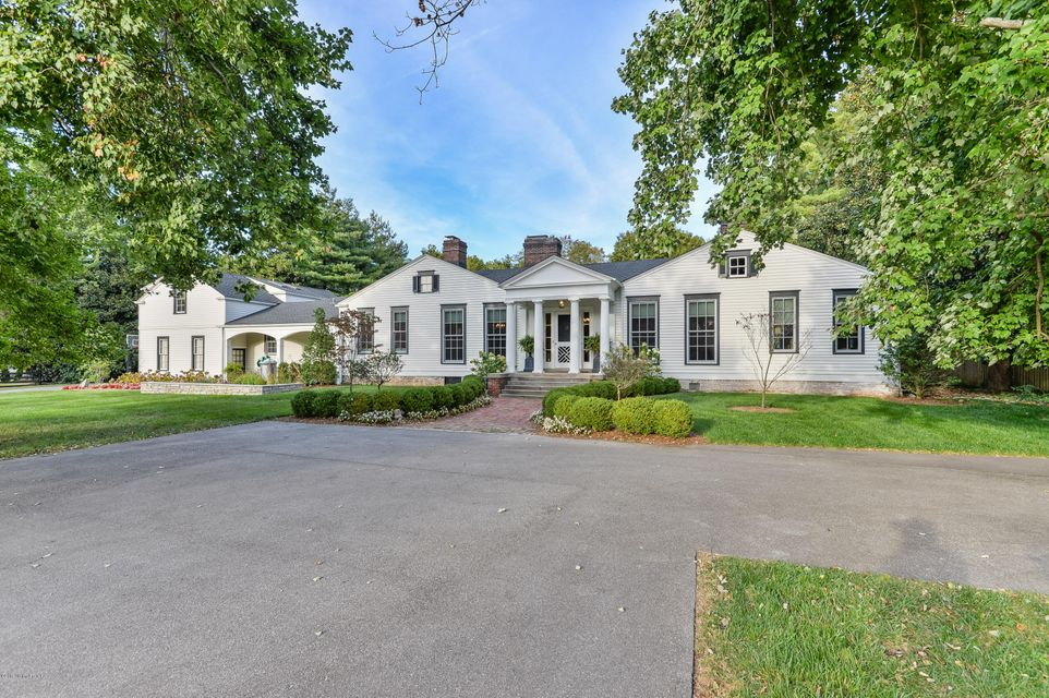 Even the most discerning buyer will be impressed with the most recent renovations to this home, originally built in the late 1800's. It sits on almost 3 beautifully manicured acres in the most convenient area of the city, between River Rd and Brownsboro Rd. Although you're only minutes from everything, you feel miles away, surrounded by mature...