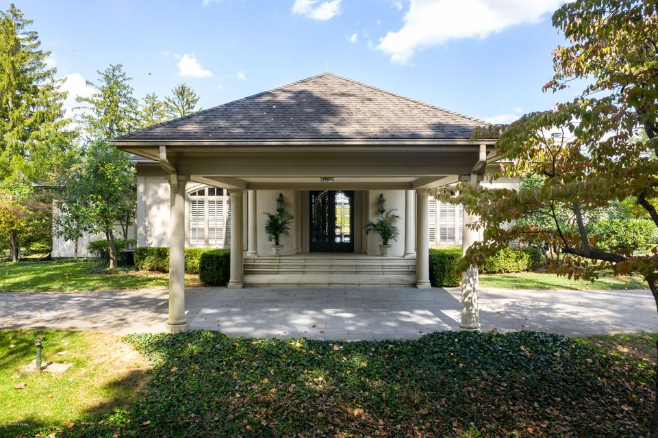 This nearly 5 acre estate sits above the river on Orchard Ridge and is the home you'll feel thankful to be returning to everyday. The privacy and expansive views of the lushly landscaped acreage provide the opportunity for many amazing sunsets while dining alfresco. There are French doors across the back of the home, allowing for light-filled...