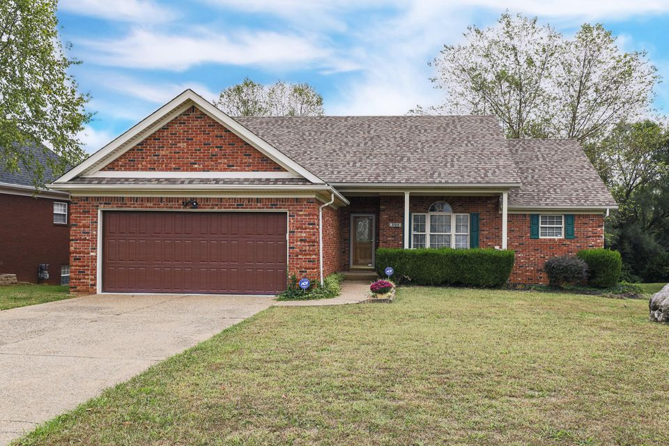 This charming brick ranch offers nearly 2,000 square feet of living space in a lovely neighborhood. Although it is listed as 2 bedrooms, the third bedroom is attached to the family room addition and was used by current owner as an office. You walk in to the expansive great room with gas fireplace that is completely open to the kitchen and...