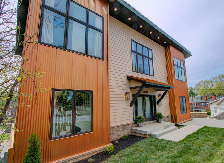 This is your once-in-a-lifetime chance to own one of the most unique houses in the Highlands.  Completed in 2018, this very modern, open concept home is loaded with natural light and super deluxe finishes.  The first floor consists of an open kitchen, a very bright great room, tons of windows, hardwood floors, a powder room and good storage...