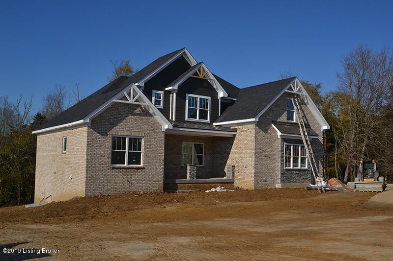 This all Brick and stone home in Section 4 of Grand oaks is currently under construction! The beautiful open floor plan features a first floor master with a huge walk in closet and soaking tub in the master bath!! The first floor laundry room with direct access from the garage features cubbies for storage!! The kitchen with a breakfast area feature stainless appliances  which includes a gas range.  There is also a separate dining room as well. Upstairs are 3 more bedrooms and a full bath. The basement has a John Deere room, is roughed in for another bath and awaits your finishes. Call today for more information.