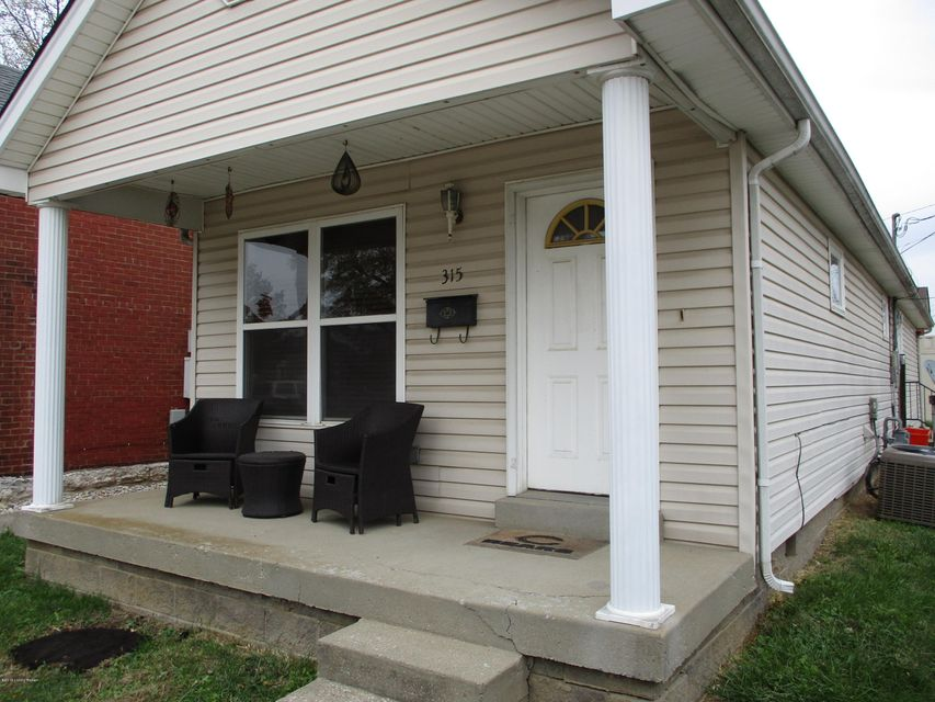 Great rental location! Conveniently located between Highlands and NuLu, this two bedroom 1.5 bath ranch home will put you in the heart of all things Louisville. Open concept living room/ kitchen, this 960 square feet has a detached garage behind the house on a dead end street. Can be rented furnished with utilities paid.