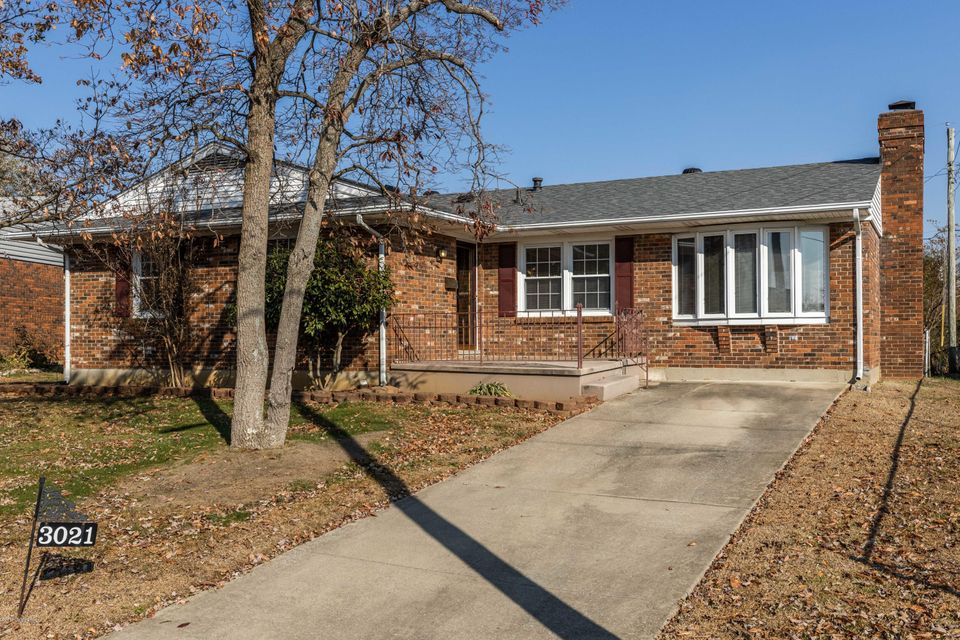 Welcome home to this sprawling brick ranch with a walkout basement! Home is located on a dead-end street and is conveniently just moments from EVERYTHING (dining, shopping, medical care and entertainment, etc.).  The mature landscaping and beautiful front porch gives this home great curb appeal. Inside you will find over 2,000 square feet of finished living space. There is a large family room with built in bookcases and an additional living area with stone fireplace on the main floor.  You will also find the Master and 2 additional bedrooms there. Downstairs there is yet another large family area with fireplace, office/den and tons of storage. Home has been meticulously maintained. HVAC and Water Heater are less than 2 years old and Roof is less than 3 years old.  The rear of the home has