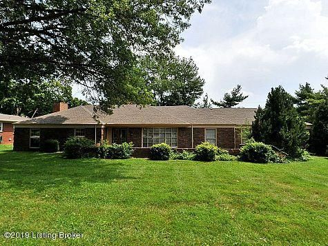 Large ranch with nice kitchen, formal dining room, living room and family room with fireplace. Master has fireplace as well. Detached garage and apartment over garage in back has been rented. Tenant will share driveway with tenant in apartment.