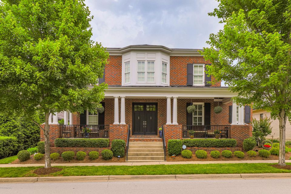 Located in the vibrant Norton Commons neighborhood, this stunning custom-built brick home has been immaculately maintained, featuring only the finest finishes and details throughout its three spacious levels of living space. Beginning with a picturesque columned front porch with wood plank ceiling, ample seating and the picture-perfect spot...