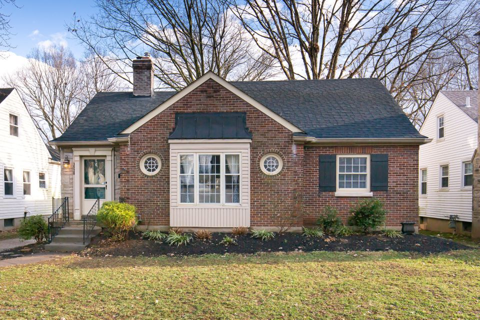 This wonderfully updated Cape Cod in the heart of St. Matthews has it all! The first level boasts a highly desirable open floor plan that's perfect for entertaining. The showpiece kitchen features gorgeous custom cabinetry, granite counters, updated stainless appliances, and an island with eat-in table that seats four. It opens up to the bright,...