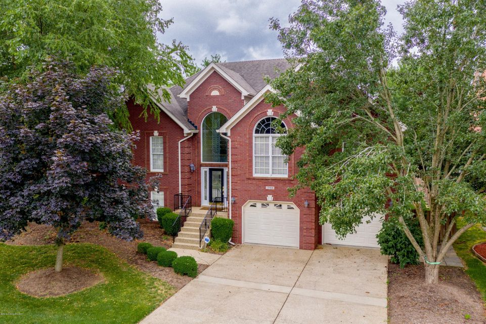 Updates, Open, Spacious, Large Deck (Partially Covered) and Exceptional former Homearama home with tons of pizzazz (be sure to see the pictures)! Here's a home with fantastic workmanship! The open kitchen features glazed cabinets (with rope trim, wood trim granite countertops, great upgraded cabinetry, hardwood floors and big bay in breakfast...