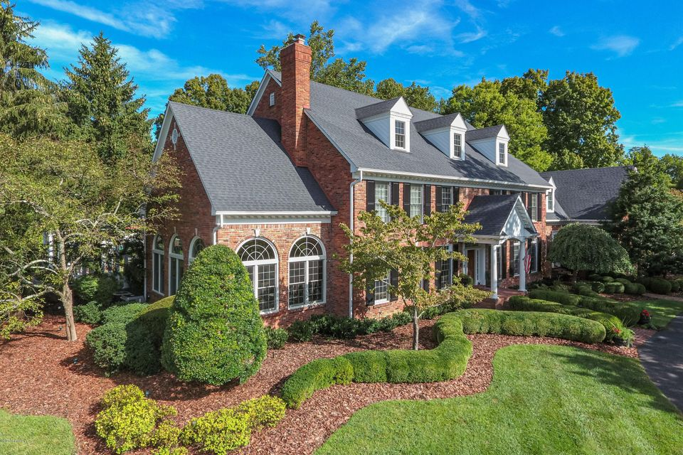 This impressive and stately traditional brick home in situated on a 5 acre picturesque lot in Anchorage. This grand home boasts over 11,000 finished square feet including a finished lower level walkout. In addition, the exquisite outdoor living space offers beautifully landscaped gardens, patios, gazebo, pool and pool house with full kitchen...