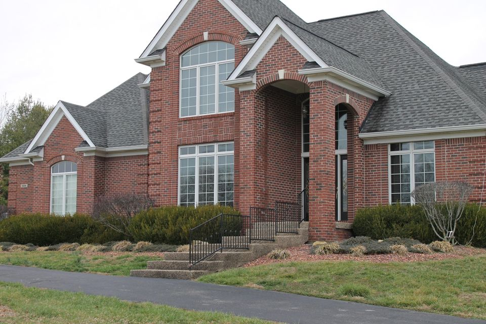 Beautiful estate home on over 7 acres with easy access to I64.  Offering a total of 5,508 finished sq ft, this like new home is neutral, clean, & in move-in condition. The 1st floor has a formal dining room & living room. The large eat-in kitchen has an island with breakfast bar, white cabinets, and black and stainless appliances.  A butler's pantry is located between the kitchen and dining room. the great room has a working gas fireplace.  The 1st floor master has bath with separate tub & walk-in shower and a large double vanity.  The 2nd flr has 3 bedrooms & 2 full baths.  The walkout basement offers great space for entertaining, fitness or play.  2 addional rooms & full bath in the basement.  This home also has a 3 bay attached garage & a 50 x 30 2 bay detached garage.