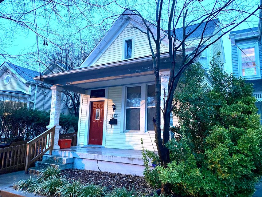 Excellent location in Highlands, quaint and charming large 2 bedroom home with large 2nd fl bedroom with full bath and 400 sq ft bedroom space in basement with full bath.Hardwood floors,  open living room and dining room area. Kitchen opens to nice back yard. Off street parking.