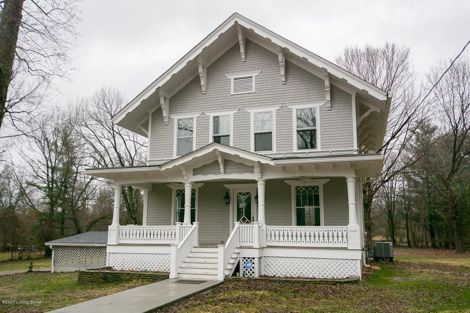 Charm abounds in this beautifully renovated period home on an incredible partially wooded THREE ACRE LOT. New kitchen with elongated cabinetry, granite counters, new island with additional storage and seating, new appliances, new roof, new random width enginerred flooring on the first floor. Great room has a coffered ceiling and fireplace, new bathrooms with tall vanities, new paint, new flooring, two new zoned HVAC systems, many light fixtures, 10 ft ceilings.  Truly a pleasure to show!