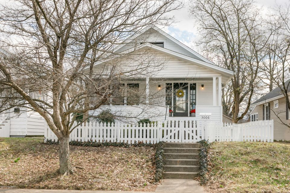 This charming Crescent Hill bungalow, tucked off of Stilz Avenue near the water company, is move-in ready.  Original features of this 1925 gem include gorgeous wood floors, original light fixtures, and built-in bookcases defining the space between living and dining areas.  Third bedroom is currently used as a den, with French doors separating...