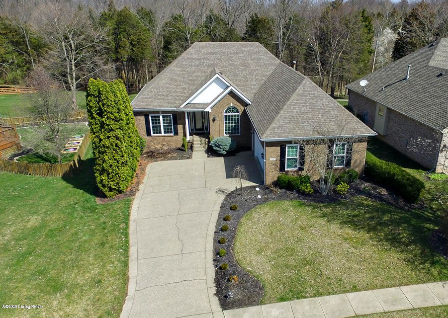 Located in Forest Springs North, this amazing four bedroom, split floor plan ranch is being offered for sale only for the 2nd time since being built as a Homearama home. Whether it's entertaining or a private sanctuary, this ranch home provides an outdoor experience only matched by its inside abundance. The pool and covered deck are perfect...